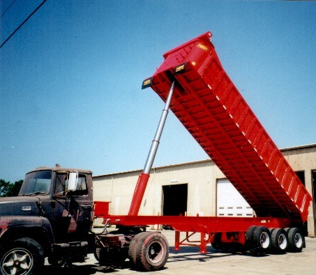 demonlition semi trailers